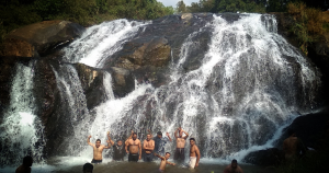 Catherine falls-  water falls in ooty